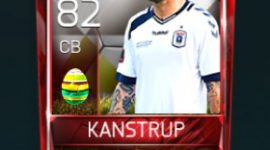 Pierre Kanstrup 82 OVR Fifa Mobile 18 Easter Player - White Edition Player