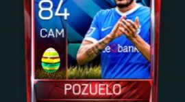 Pozuelo 84 OVR Fifa Mobile 18 Easter Player - Blue Edition Player