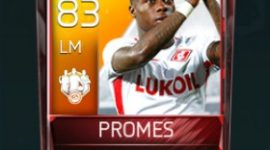 Quincy Promes 83 OVR Fifa Mobile 18 TOTW April 2018 Week 2 Player