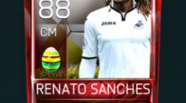 Renato Sanches 88 OVR Fifa Mobile 18 Easter Player - White Edition Player