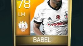 Ryan Babel 78 OVR Fifa Mobile 18 TOTW April 2018 Week 3 Player