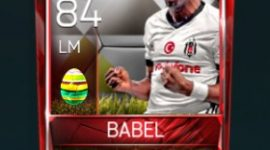 Ryan Babel 84 OVR Fifa Mobile 18 Easter Player - White Edition Player