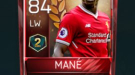 Sadio Mané 84 OVR Fifa Mobile 18 VS Attack Season 2 Player