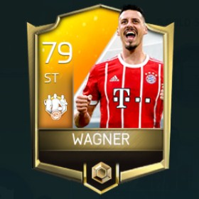 Sandro Wagner 79 OVR Fifa Mobile 18 TOTW April 2018 Week 3 Player