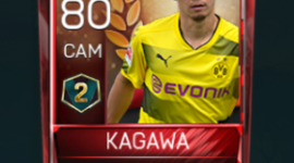 Shinji Kagawa 80 OVR Fifa Mobile 18 VS Attack Season 2 Player