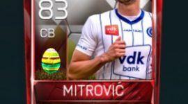 Stefan Mitrović 83 OVR Fifa Mobile 18 Easter Player - White Edition Player