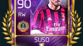 Suso 90 OVR Fifa Mobile 18 VS Attack Rewards Player
