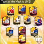 Team of The Week (TOTW) April 2018 Week 3