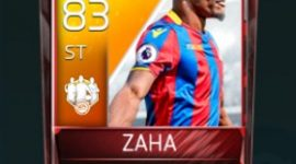 Wilfried Zaha 83 OVR Fifa Mobile 18 TOTW April 2018 Week 3 Player