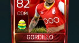 Yeison Gordillo 82 OVR Fifa Mobile 18 Easter Player - Red Edition Player