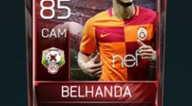 Younès Belhanda 85 OVR Fifa Mobile 18 Matchups Player