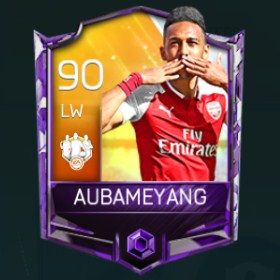 Pierre-Emerick Aubameyang Team of The Week (TOTW) May 2018 Week 2