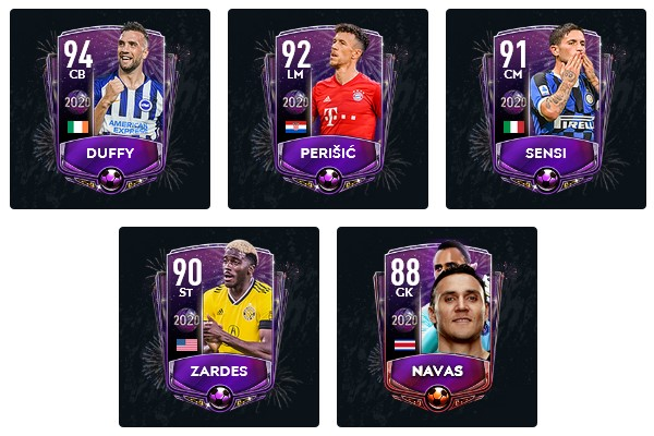 FIFA Mobile 20 New Years Players