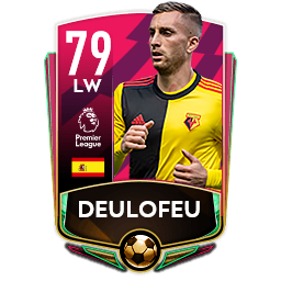 FIFA Mobile Gerard Deulofeu Boxing Day Card