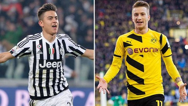 Dybala & Reus, two of the bes CFs on FIFA Mobile