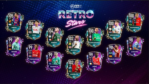 Retro Stars 20 Top Players