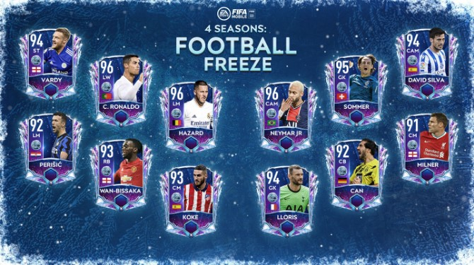 FIFA Mobile Football Freeze Players