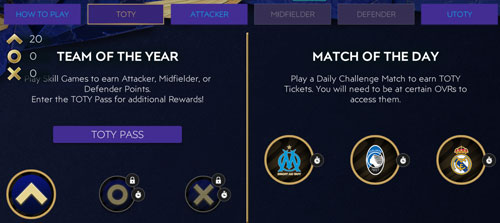 FIFA Mobile 21 TOTY Skill Games