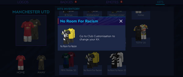 Free Kits in FIFA Mobile