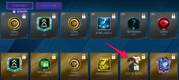 FIFA Mobile Kits Rewards from Star Pass