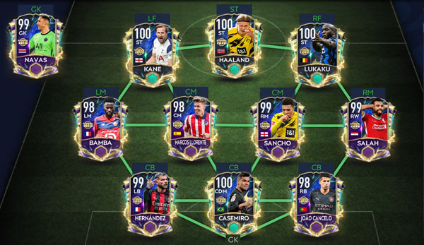 FIFA Mobile 21 UTOTS Reserve Players