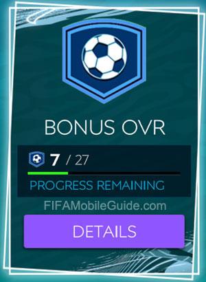 Bonus OVR